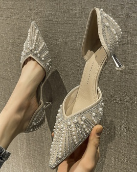 Middle-heel shoes high-heeled shoes for women