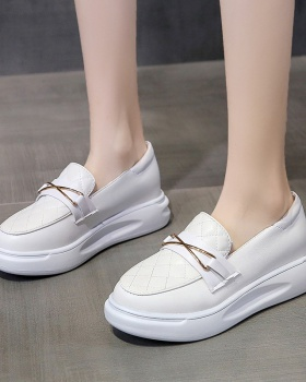 Thick crust all-match lazy shoes Casual loafers for women