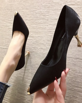 Pointed shoes high-heeled shoes for women
