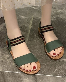Flat student fashion all-match rome summer sandals