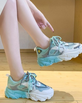 Gradient summer shoes thick crust Sports shoes