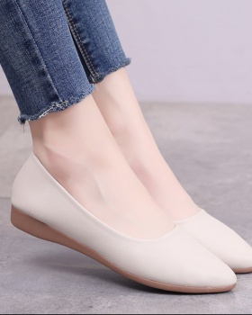 Casual pointed slipsole spring and autumn shoes for women