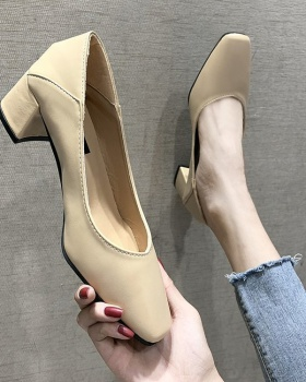 Thick shoes high-heeled shoes for women