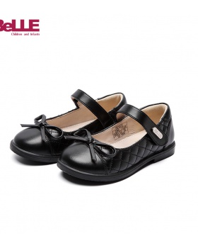 Student big girl low leather shoes autumn small shoes