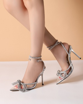 Temperament sandals high-heeled shoes for women