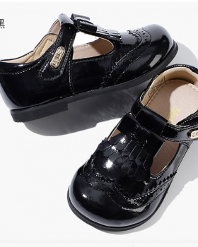 Girl spring and autumn children shoes fashion leather shoes