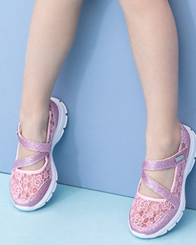 Spring and summer breathable Sports shoes mesh girl shoes