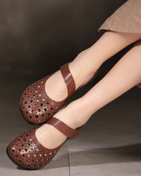 Hollow low lazy shoes summer shoes for women