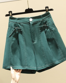 Slim summer fat cotton large yard loose shorts for women