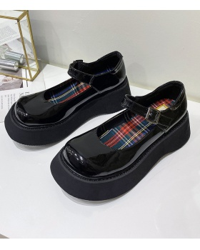Small autumn shoes Japanese style leather shoes