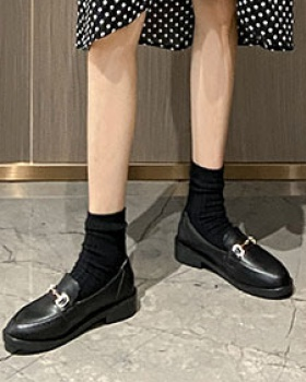 All-match small leather shoes flat shoes for women