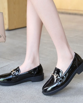 All-match Casual flattie British style Korean style shoes for women