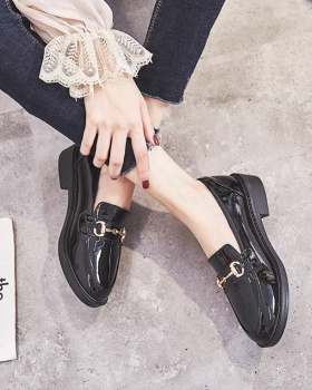 Spring and autumn Korean style shoes small Casual leather shoes