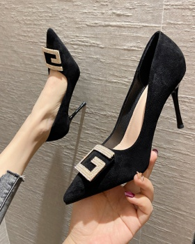 Temperament sexy high-heeled shoes low shoes for women