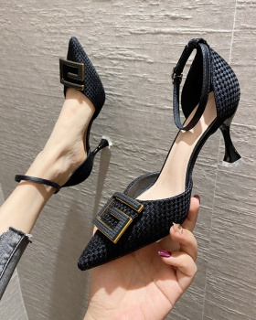 Pointed sandals high-heeled shoes for women