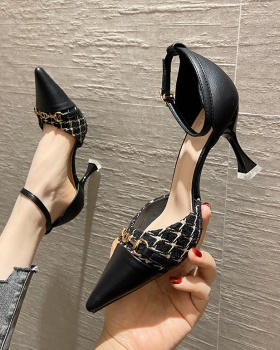Fashion and elegant shoes France style high-heeled shoes for women