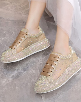 Thick crust summer breathable shoes for women