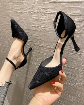 Maiden high-heeled shoes fine-root shoes for women