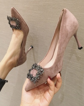 Maiden fine-root shoes pointed high-heeled shoes for women