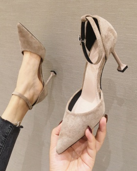 France style high-heeled shoes fine-root shoes for women