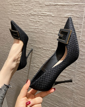 Fine-root high-heeled shoes shoes for women