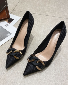 Ladies high-heeled shoes pointed shoes for women