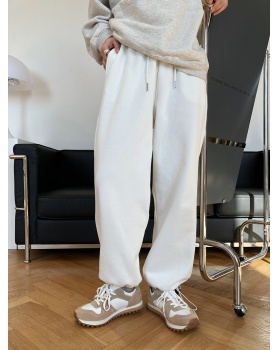 High waist loose long pants Casual sweatpants for women