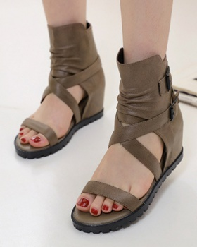 All-match fashion within increased sandals for women