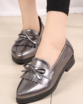 Spring tassels leather shoes small shoes for women