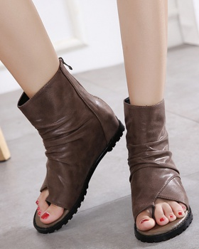 Spring and summer summer boots slim sandals for women