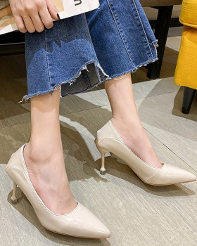 Wear pointed high-heeled shoes fashion spring shoes for women