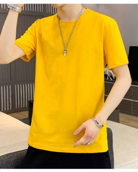 Short sleeve pure summer loose T-shirt for men