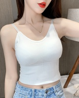 Wears outside integrated Bra wrapped chest vest for women