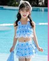Korean style student separates swimsuit baby girl skirt