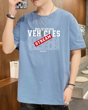 Short sleeve Korean style fashion T-shirt for men