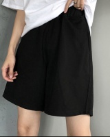Sports shorts elastic waist casual pants for women