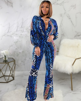 Micro speaker fashion trousers European style jumpsuit